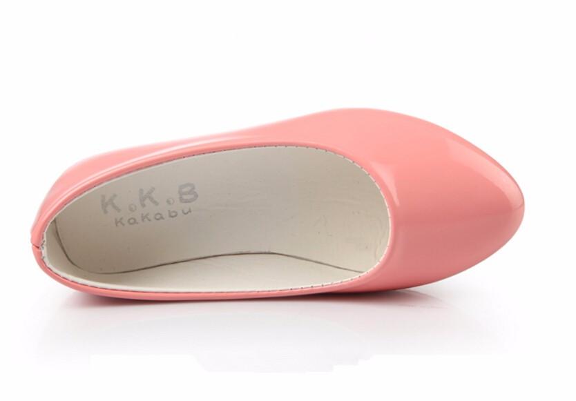 girl leather shoe-44