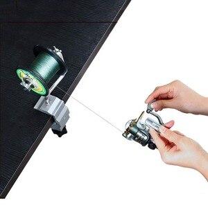 Image 3 - Fishing Line Spooler With Clamp Fishing Reel Line Spool Spooler System Tackle Fishing Line Winder Sea Carp Fishing Tools