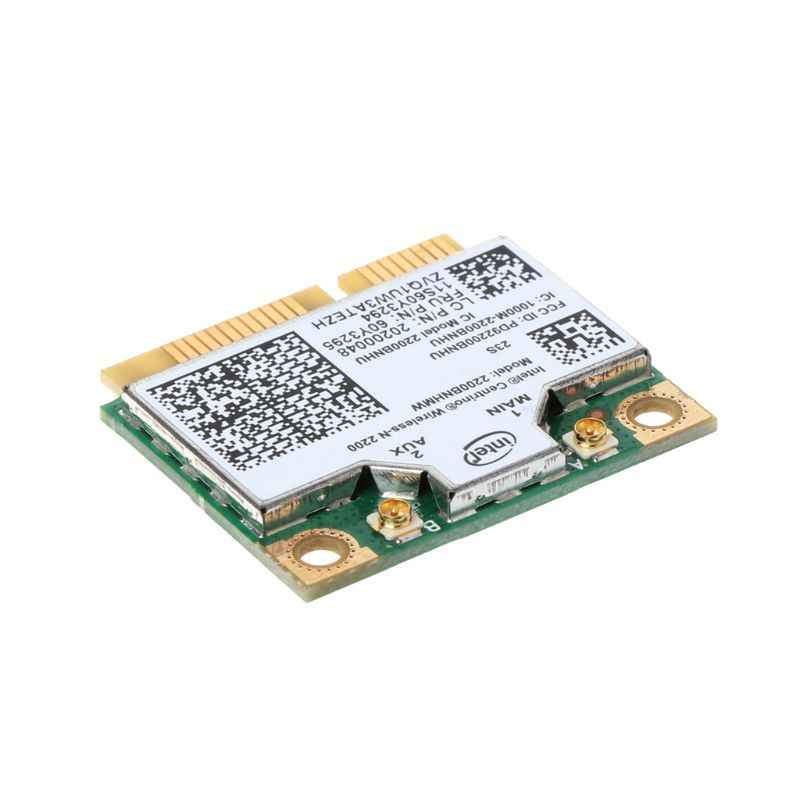 2200 BNHMW 60Y3295 20200048 Intel Wireless-N Wifi Card for Lenovo IBM T430  W530 T530 300M