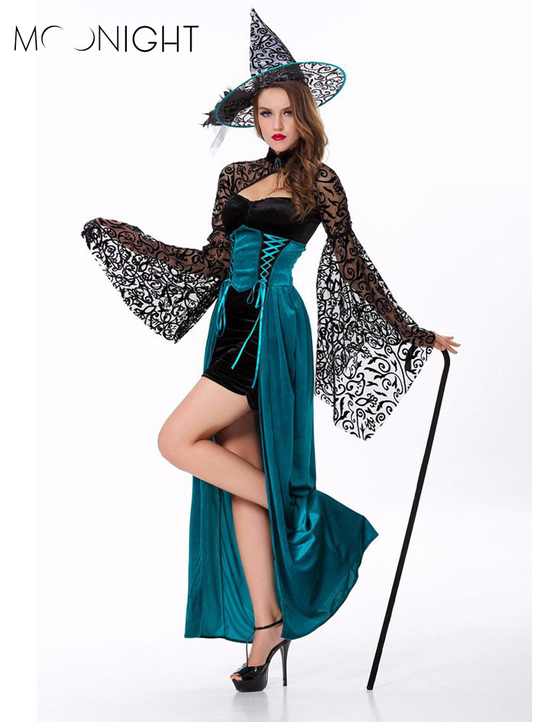 Popular Adult Witch Costumes-Buy Cheap Adult Witch Costumes lots ...