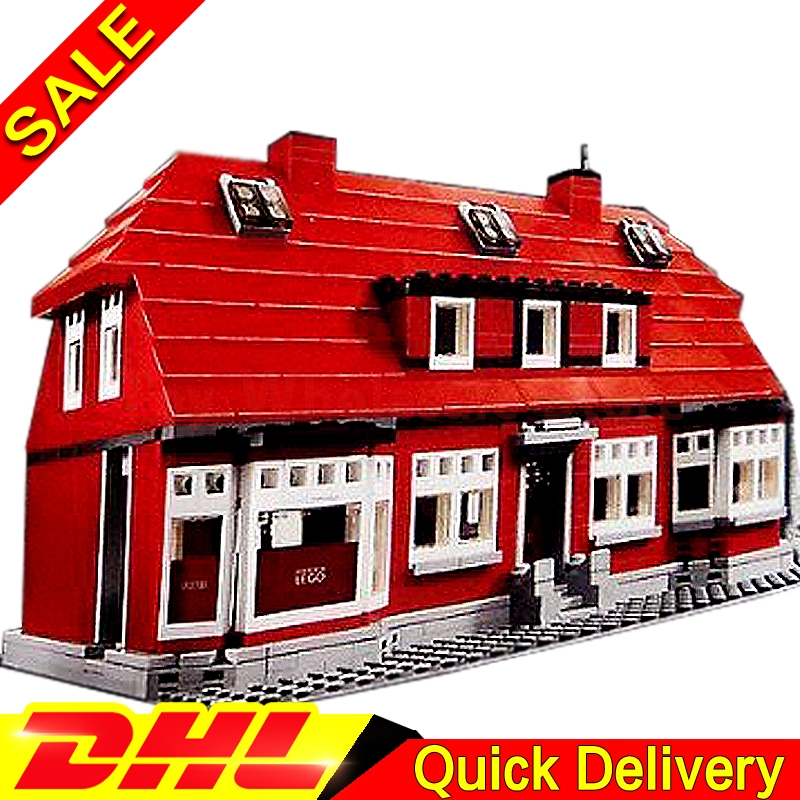 Lepin 17006 928Pcs Kirk's House RARE Limited edition Model Building Kits Set Blocks Bricks lepins Toys Clone 4000007 lepin creator home 17006 928pcs the red house set model 4000007 building kits blocks bricks educational toys for children gifts
