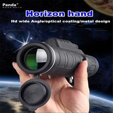 New Portable HandHeld Panda 35×50 Dual Night Vision Adjustable Zoom Monocular Telescope Travel Camping