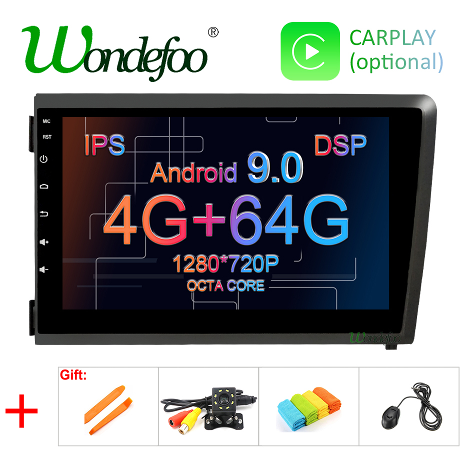 8 DSP IPS Android 9 0 4G 64G CAR player GPS For Volvo S60 V70 XC70