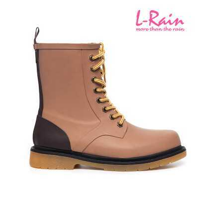 fashion british style 2017 men's boots waterproof rain