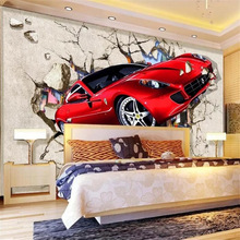 Custom Wallpaper Painting Tv-Background-Decorative 3d Mural Papel-De-Parede Wall-Out