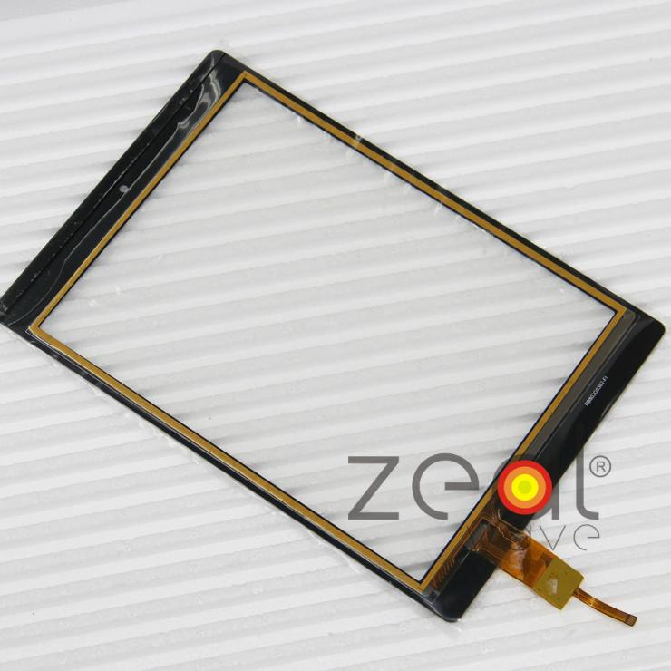 Free Shipping New Capacitive Screen Touch Glass Digitizer Panel Repair Parts For PB80JG9382-R1 Tablet PC Black new touch screen glass panel for fp vm 4 s0 repair