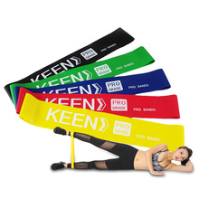 Fitness Rubber Resistance Loop Band  Pilates Exercise  Physical Therapy Yoga Elastic bands CrossFit Body Building Yoga Fitness