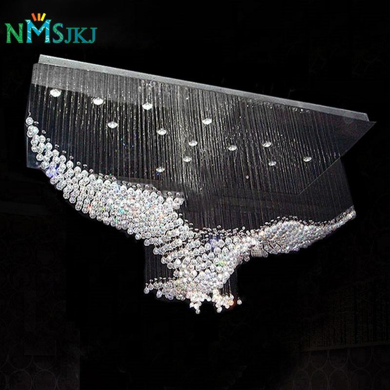 New Eagles Design Luxury Modern Crystal Chandelier