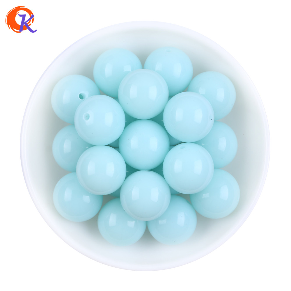 Beads Back To Search Resultsjewelry & Accessories Useful S71 20mm 100pcs New Winter Color Pale Dark Blue Kids Play Fun Bubblegum Acrylic Solid Beads For Jewelry Cdwb-701177