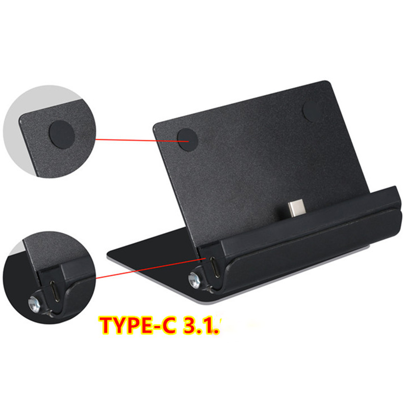 For NS Host Stand Charging Base Charger For Switch Charging Base Mount Rotating bracket