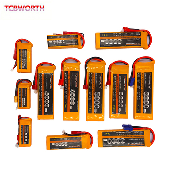 2S 7.4V 1100 1500 1800 2200 2800 3300 4000mAh 25C 35C 60C RC LiPo Battery 2S For RC Airplane Quadrotor Boat Drone 2S Batteries 4