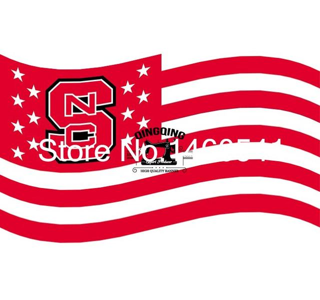 North Carolina State Wolfpack Flag Ft X Ft Polyester NCAA Banner - north flags