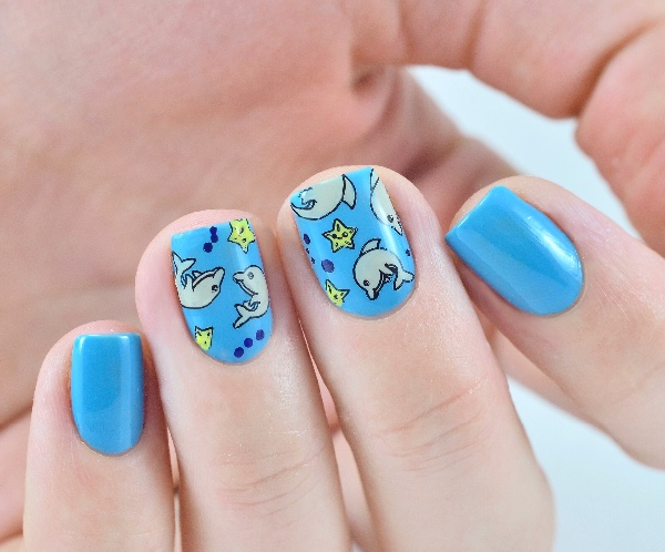 BORN PRETTY Template Stamping Plate Cute Animal Dog Cat Elephant Dolphin  Rectangle Manicure Nail Art Image Plate DIY Template-in Nail Art Templates  from ... - BORN PRETTY Template Stamping Plate Cute Animal Dog Cat Elephant