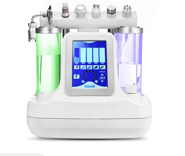 Potable 7 dans 1 hydrodermabrasion bulle d'eau vide peeling de la peau hydro machine de nettoyage du visage