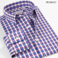 Smart Five Men Shirt 2016 Summer Autumn Patterns Plaid Long Sleeve Cotton Slim Fit  Men's Shirt  Brand-Clothing chemise