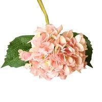 人工花フェイクシルク花フラワーブーケアジサイパーティーの装飾クラフト616