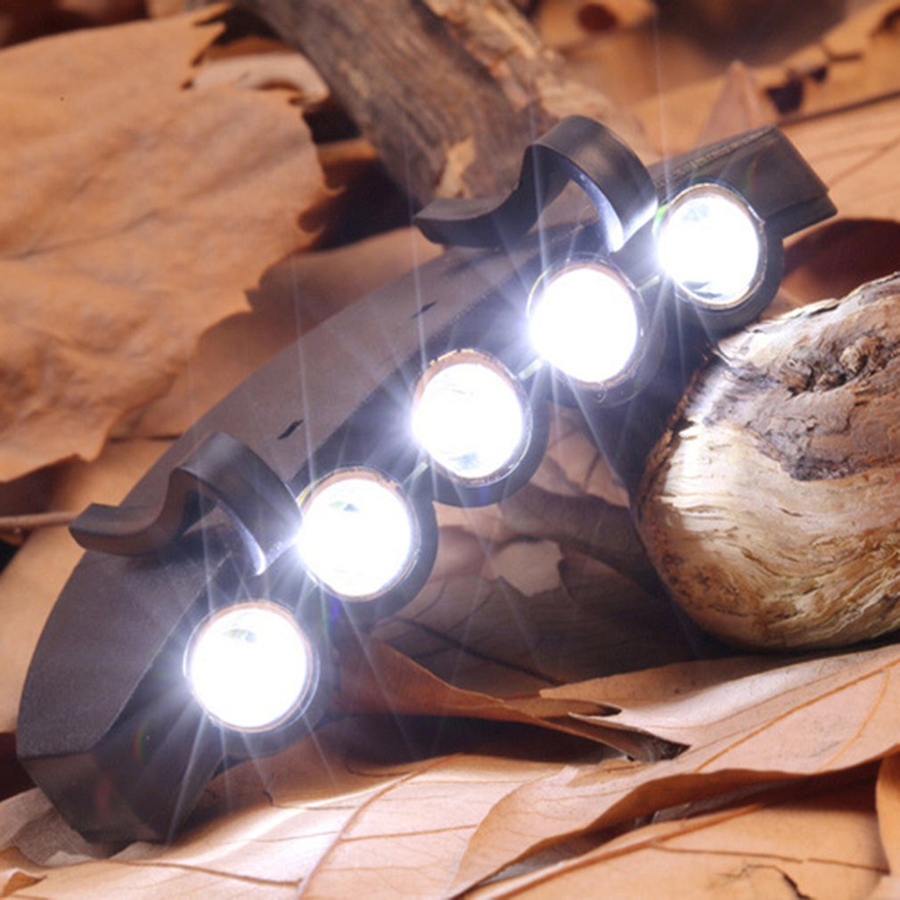 5 LED Cap Hat Brim Clip Lamp Head Light Headlight Headlamp Working in Darkness Places Fishing Camping Hiking and Outdoor5 LED Cap Hat Brim Clip Lamp Head Light Headlight Headlamp Working in Darkness Places Fishing Camping Hiking and Outdoor