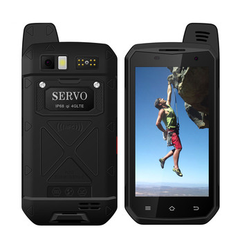 "Original SERVO B6000 MTK6755 Octa Core 4G 64GB Android 6.0 OS 13MP 5000mAh IP68 Mobile Phone Support Wireless Walkie Talkie 4.7"" 2"