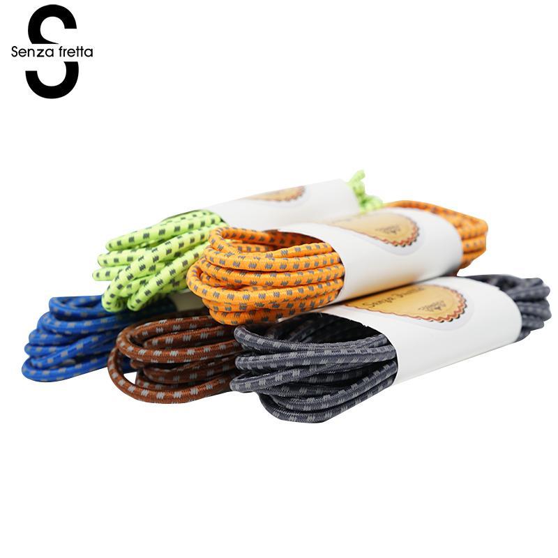 все цены на Senza Fretta Lock Laces 5 Colors Locking Shoe Laces Elastic Shoelaces Women Men No Tie Shoe Laces 110cm 1 Pair LDD0228 онлайн