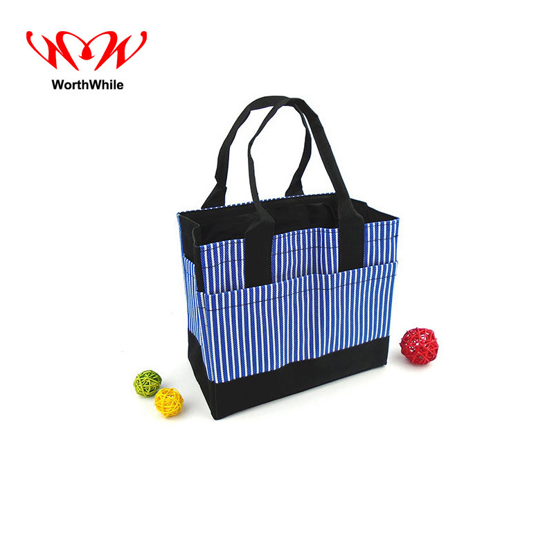 WorthWhile Camping Picnic Handbag Portable Thermal Basket Lunch Cooler Box Oxford Outdoor Hiking Kid Women Men Fresh Storage