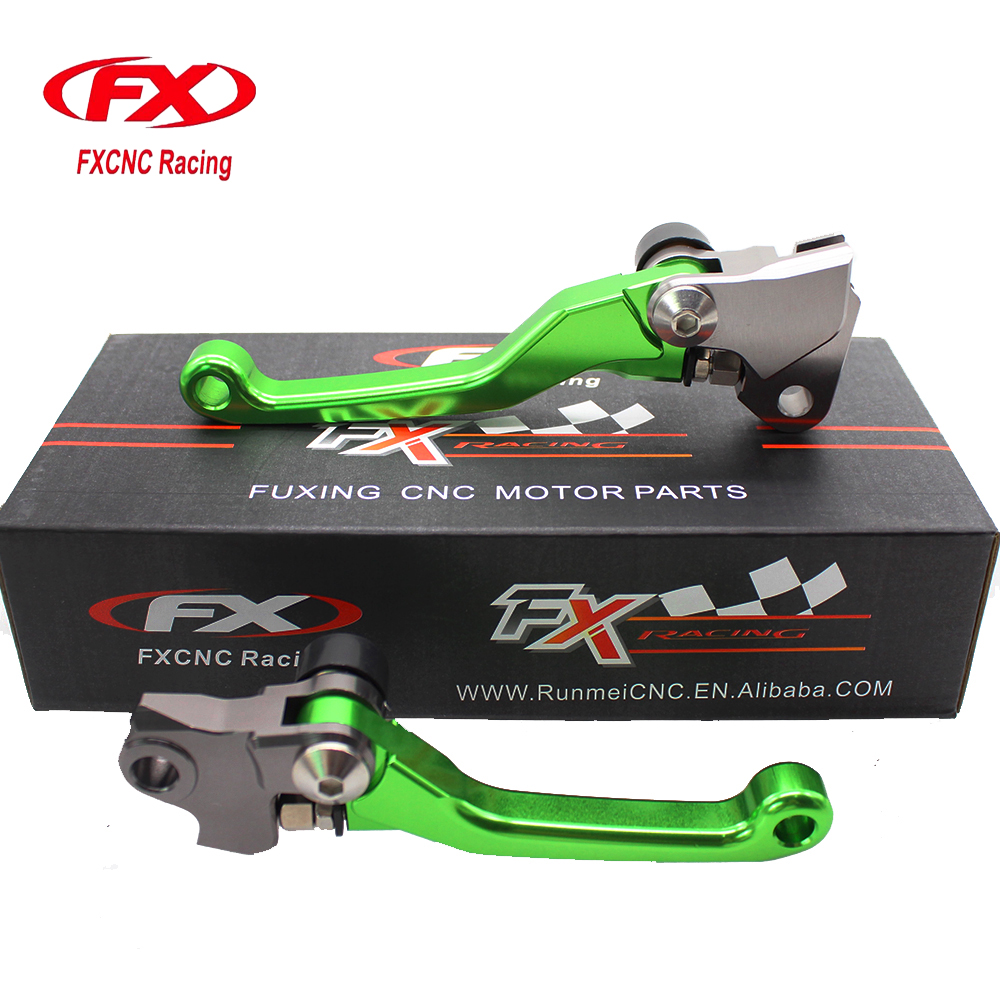 FXCNC Pivot Motocross Dirt Pit Bike Brake Clutch Levers For Yamaha YZ426F YZ450F YZ125 YZ250 YZ 125 250 426F 450F 2008