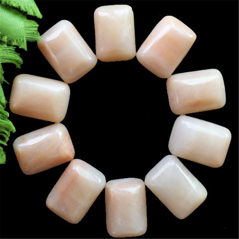 (12 pieces/lot) Wholesale Natural pink Aventurine Oblong CAB Cabochon 18X12X5mm Free Shipping Fashion Jewelry J102