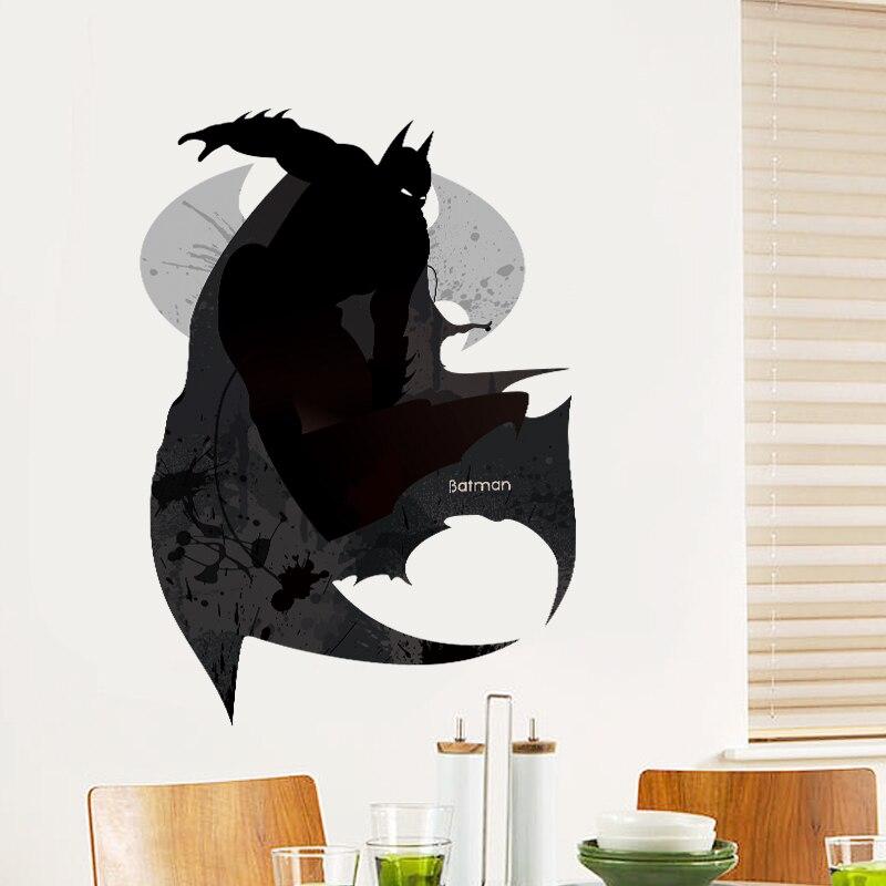 Acquista all'ingrosso online batman adesivi murali da grossisti ...