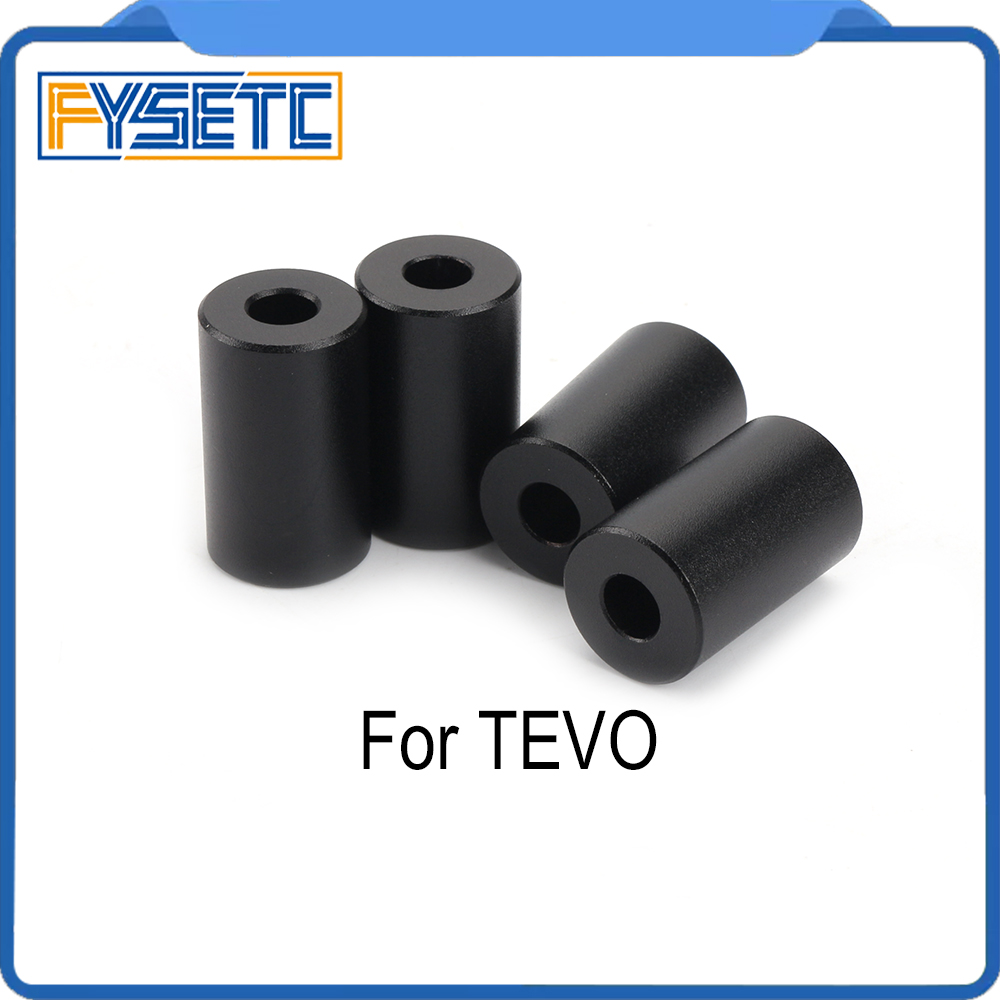 1 Set <font><b>3D</b></font> Printer <font><b>Parts</b></font> Aluminum Solid Spacer Hot Bed Leveling Column 4pcs Long Solid Spacers For <font><b>TEVO</b></font> <font><b>Tornado</b></font> Tarantula Ultimate image