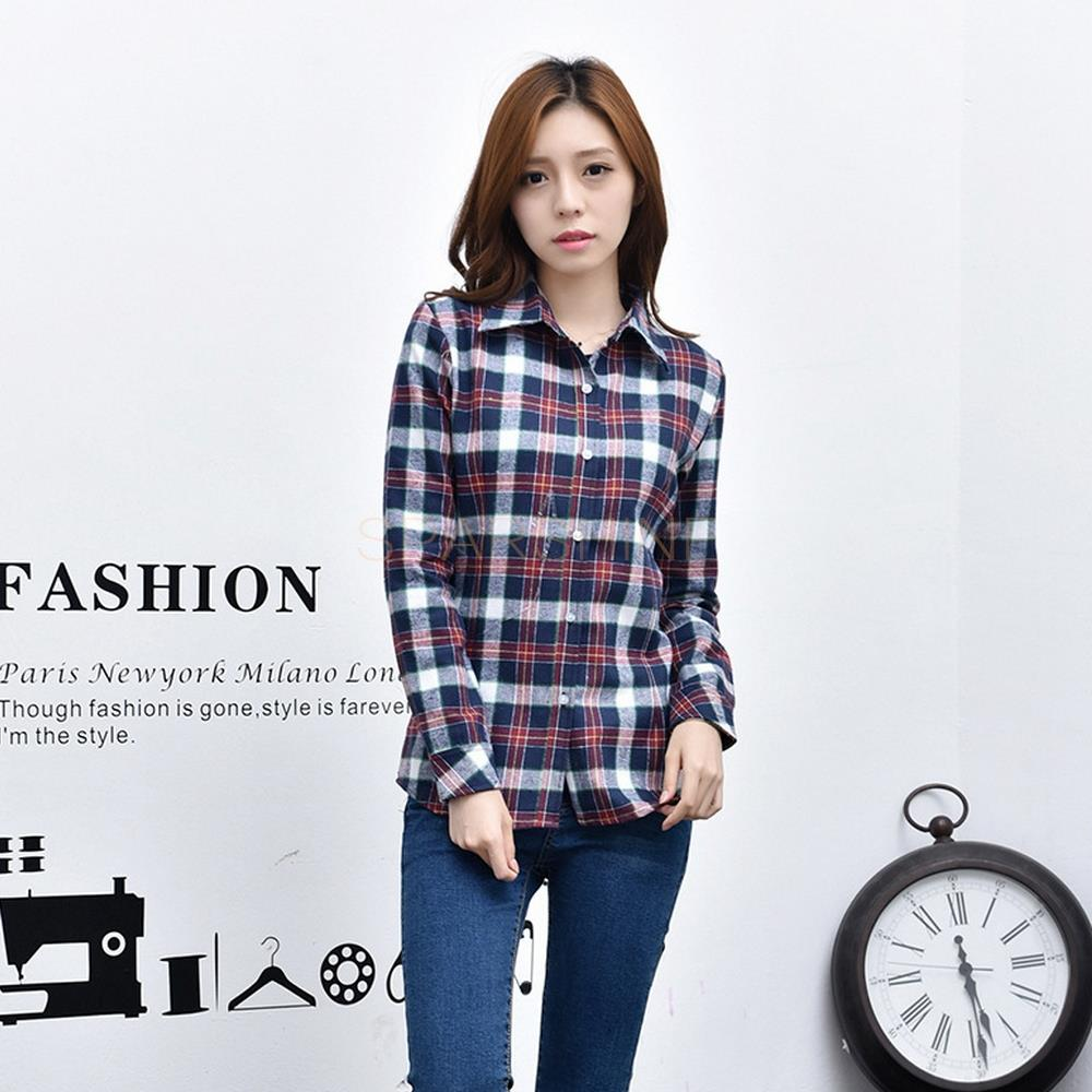 Girl 39 s plaid flannel shirt ptc 67 for Girl in flannel shirt