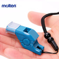Molten Plastic Referee Coach Whistle With Lanyard For Outdoor Emergency Survival Camping Rugby basketball Volleyball