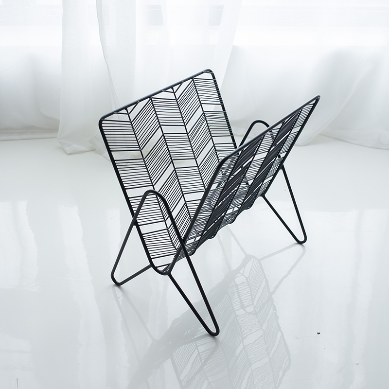 online buy wholesale wire magazine rack from china wire. Black Bedroom Furniture Sets. Home Design Ideas