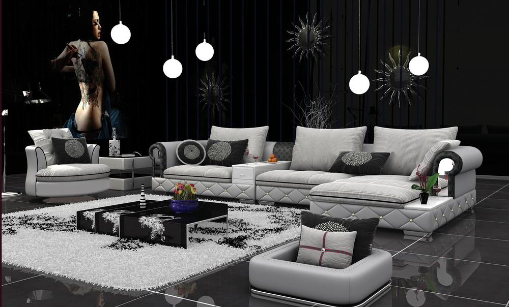 modern design sofa