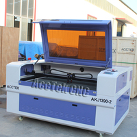 For Russian RECI 100W 1390 Laser Engrave Machine CNC Laser Cutter Water Chiller And Rotary USB Interface High Precision