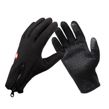 New Arrived Brand Women Men Ski Gloves Snowboard Gloves Motorcycle Riding Winter Touch Screen Snow Windstopper Glove Hot!
