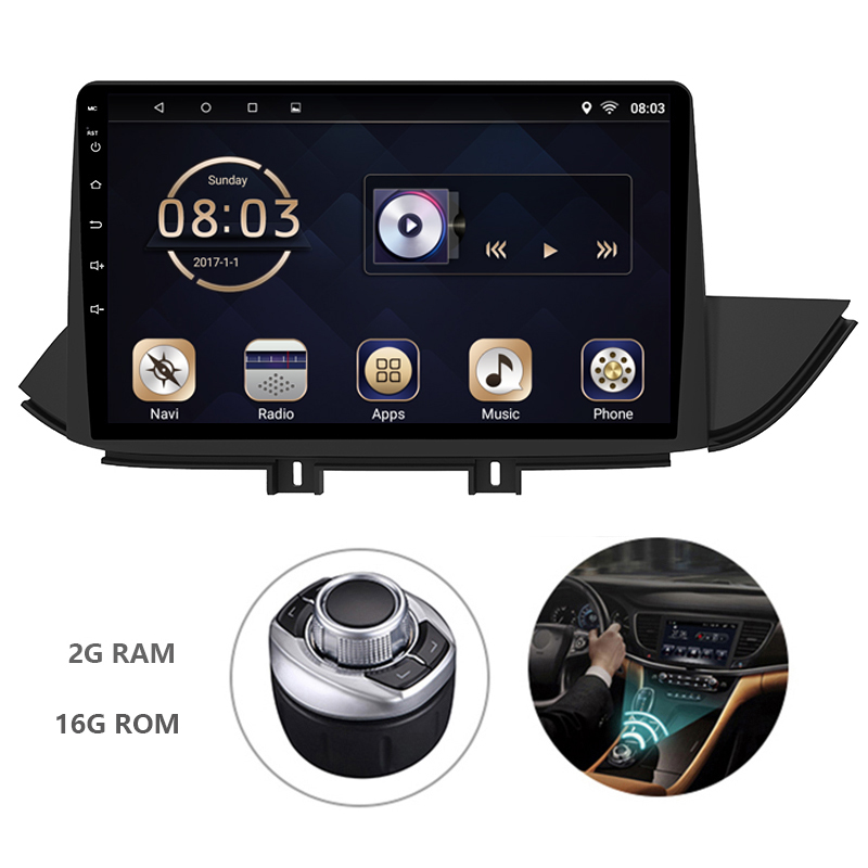 Android 7.1 1din Car DVD Multimedia Player Autoradio For Hyundai IX45 2015-2018 GPS Navigation System With Carplay Mirror Link