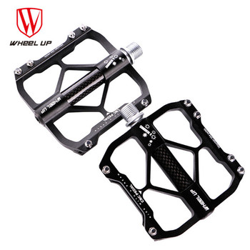 WHEEL UP Ultralight 3 Bearings MTB Bike Pedals Aluminum Alloy Mountain Road Cycling BMX Pedal Bicycle Accessories