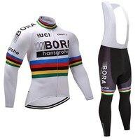 Pro nhóm tour du lịch 2017 mùa đông lông cừu cycling jerseys long sleeve warmer bike quần áo MTB Ropa Ciclismo Xe Đạp hàng xấp thơ b