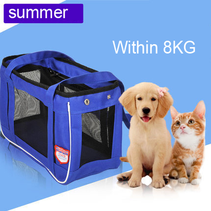 Summer breathable Pet cat dog Travel luxury Carrier bag dog outdoor Portable carrying bags backpack for large dogs