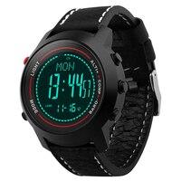 Binzi цифровые часы Для мужчин термометр Компасы Давление Водонепроницаемый измерения Для мужчин t Sport Часы для Для мужчин открытый Relogio masculino