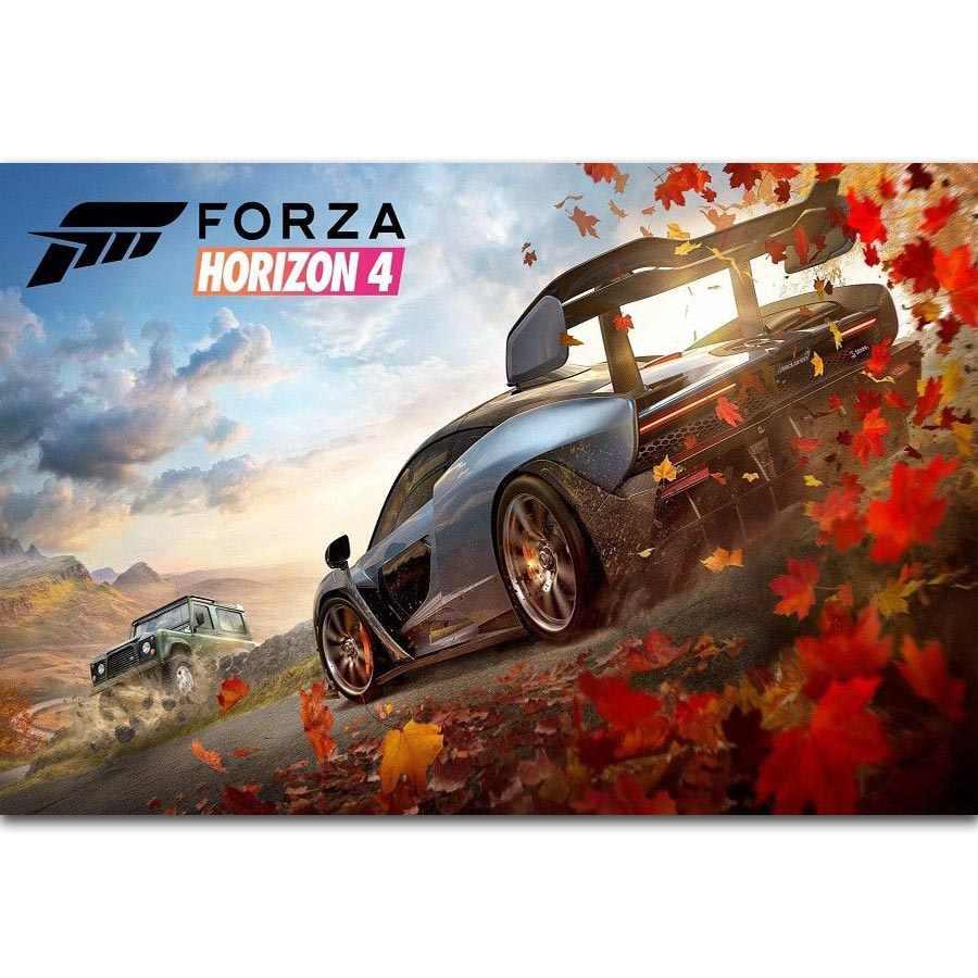 5 Piece Forza Horizon 4 Game Poster Paintings Car Racing