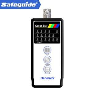 Генератор с цветной панелью HD коаксиального сигнала, 5 Мп CVI/TVI/AHD камера с монитором на выходе/обнаружением кабеля для VT-4800