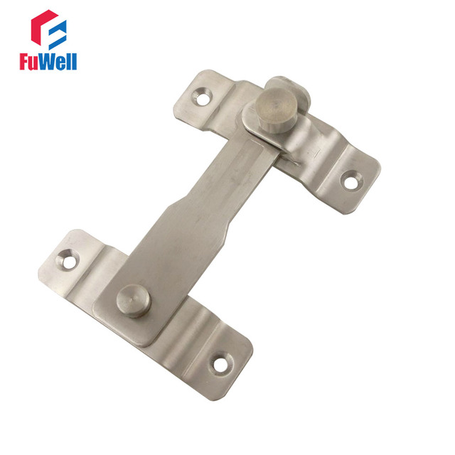 Stainless Steel Door Latch 110mm Length 3mm Thickness Gate House Door Barrel Bolt Lock  sc 1 st  AliExpress.com & Stainless Steel Door Latch 110mm Length 3mm Thickness Gate House ...