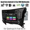 For Q/ashQ/ai X-T/rail 2014 Quad Core Android4.4 Car DVD player support dab+ WiFi 3G GPS 8'' 2 din Radio auto Stereo