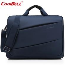 Cool Bell Fashion 17.3 inch Laptop Bag 17 Notebook Computer Bag Waterproof Messenger Shoulder Bag Men Women Briefcase Business