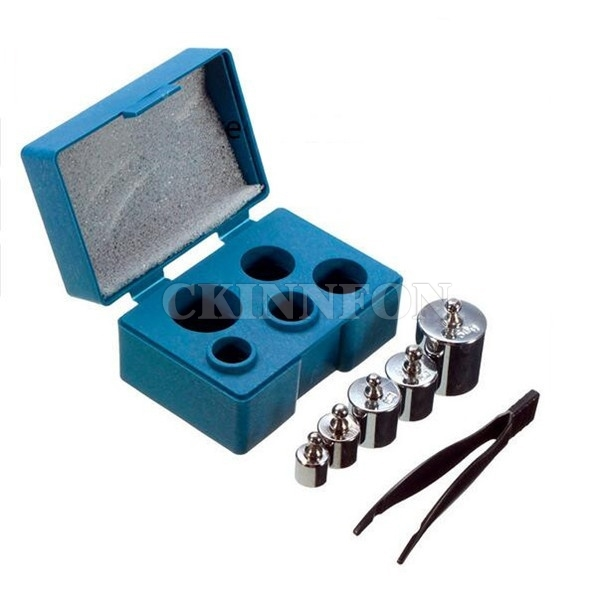 DHL 50set Precision Calibration Weight Digital Scale Set Kit with Tweezers For Weight Scale Tools
