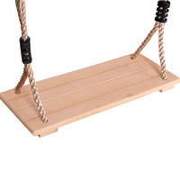 BOHS Kids Toy Swing Plate Birch Wood Children Outdoor Fun Sports Toys