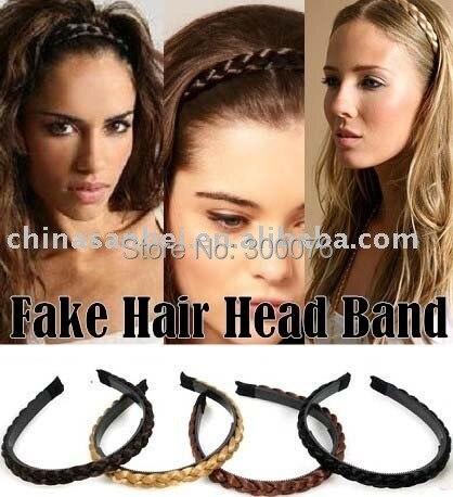 New trendy cute stylish blonde plaited hair band faux braided headband bow b8384737ead