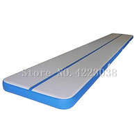 Inflatable Air Tumbling Track Traning Mat Gymnastics Cheerleading Landing Mats Gym For Training 10x2x0.2m Come a Pump