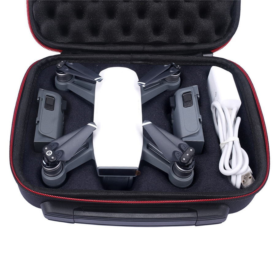 EVA Hard Storage Handle Bag for DJI Spark Drone & Accessories Protective Bag Travel Waterproof Carry Case Box for DJI Spark