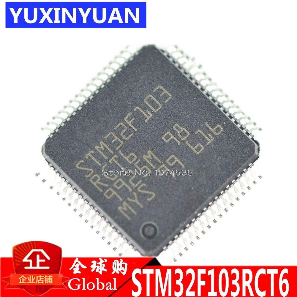 STM32F103RCT6 STM32F103 poprawki 32-bit mikrokontrolery CORTEXM3 256 k układ pamięci flash QFP 1 sztuk